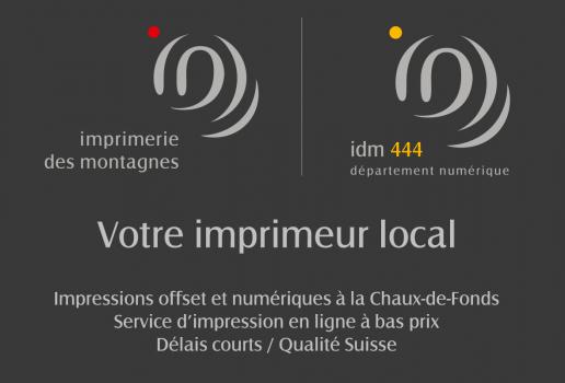 Imprimerie des Montagnes SA / IDM 444