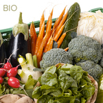 Panier légumes hebdomadaire BIO - 2 personnes