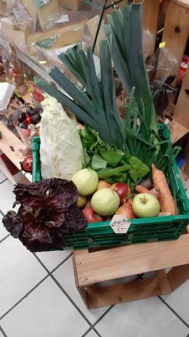 Panier de légumes bio Suisse