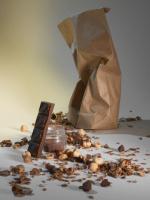 Granola artisanal bio / chocolat - noisettes
