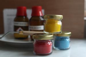 Kit pour fabriquer sa peinture à l'huile
