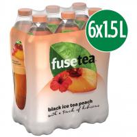 Fuse Tea Pêche 6-pack Pet 150 cl