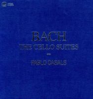 3LP Bach* - Pablo Casals ‎– The Cello Suites