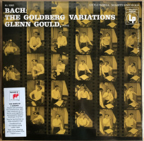 LP Glenn Gould - Bach : The Goldberg Variations (1955)