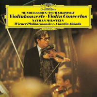 LP Mendelssohn* • Tschaikowsky* - Nathan Milstein, Wiener Philharmoniker • Claudio Abbado – Violinkonzerte