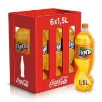 Fanta Orange en caisse de 6 x Pet 150 cl