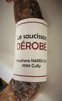 Saucisson Le Dérobé - Boucherie Nardi Cully