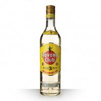 Rhum Havana Blanc Anejo 3 ans 40° 70 cl
