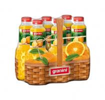 Granini Jus d'orange 100 % 6-pack Pet 100 cl