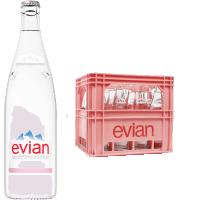 Evian naturelle verre consigné 12 x 100 cl