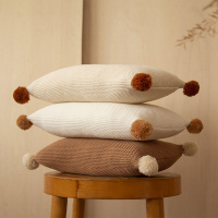 Coussins knitted